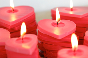 honeymoon candles