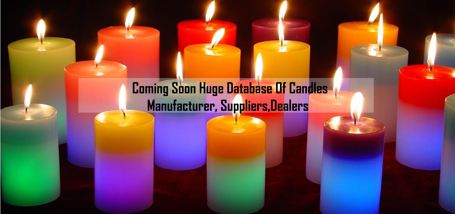 Huge database of candle manufacturer